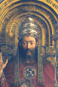 Christ the King from the Ghent Altarpiece