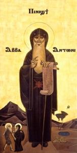 Sv. Antonijs ēģiptietis (Wikimedia Commons)