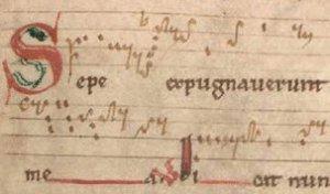 Le Graduel prémontré de Bellelay (XIIe siècle)
