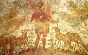 Labais Gans. Domatillas katakomba Romā (3. gs.) (New Liturgical Movement)