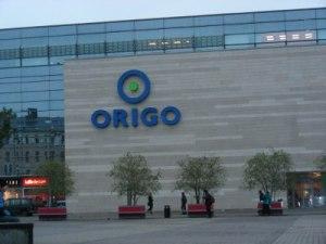 """Tirdzniecības centrs """"Origo"""" Rīgā"""