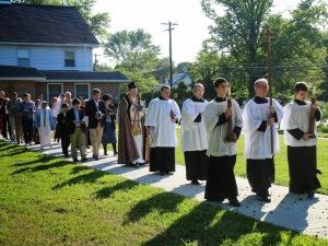 Rogāciju procesija (ASV, 2014. g.)