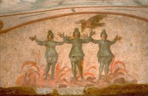 Trīs jaunekļi krāsnī